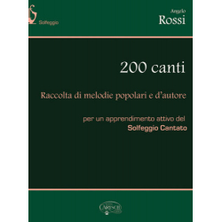 ANGELO ROSSI 200 CANTI