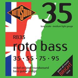 RB35 ROTO BASS MUTA NICKEL...