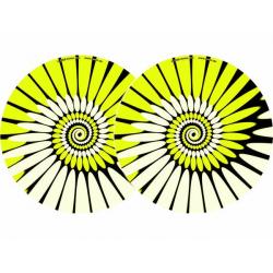 2X SLIPMATS | PAINT Yellow